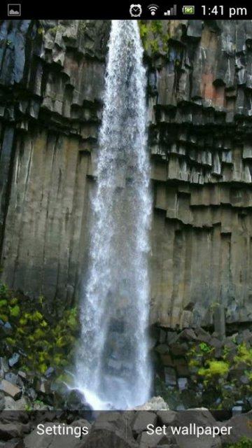 壁纸 风景 旅游 瀑布 山水 桌面 360_640 竖版 竖屏 手机