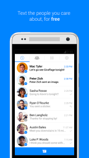 Facebook Messenger screenshot 1