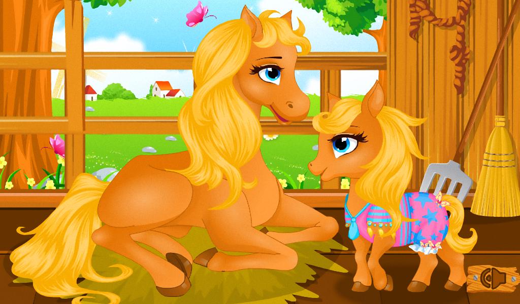 小马出生的动物游戏