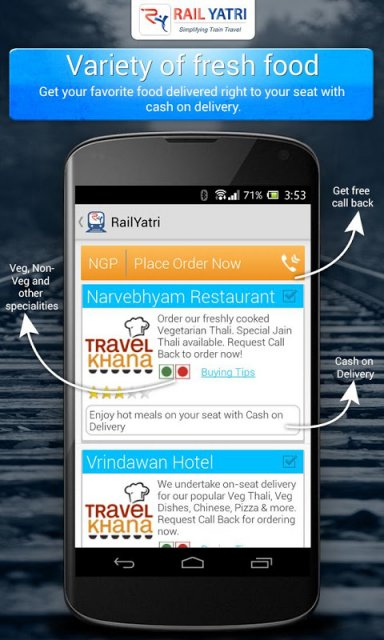 PNR status and train info - Android