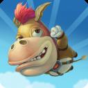 Donkey Jump Icon