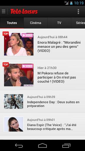 Programme TV par Télé Loisirs Screenshot