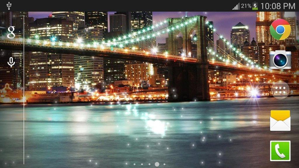 浪漫美国夜空免费动态壁纸