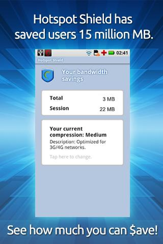 Hotspot Shield VPN screenshot 2