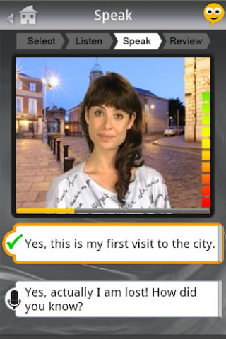 SpeakingPal English Tutor Screenshot