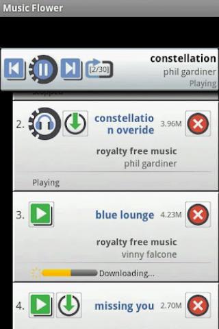 Music Flower Screenshot