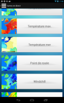 Meteo ciel Screenshot