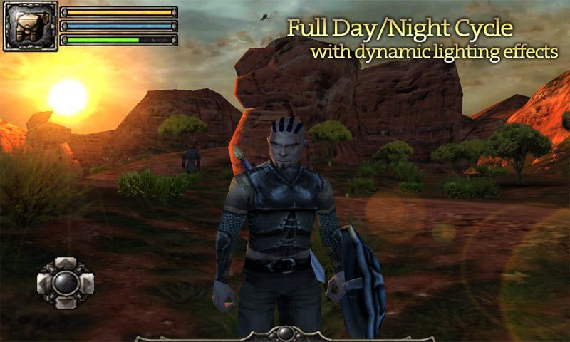 Погрузитесь в мир приключенческий мир захватывающей RPG-игры Аралон. . Меч