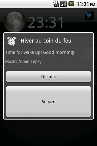 GM Alarm Screenshot