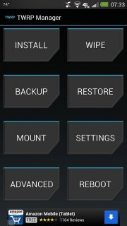 TWRP Manager  (ROOT) screenshot 1