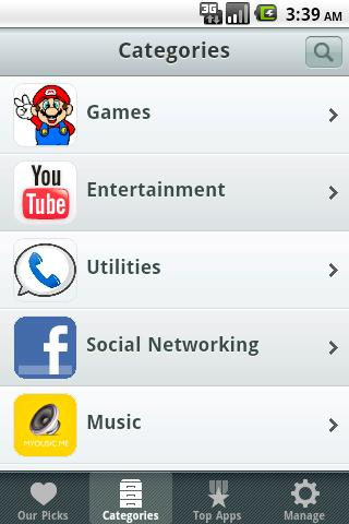 OpenAppMkt: HTML5 App Store Screenshot