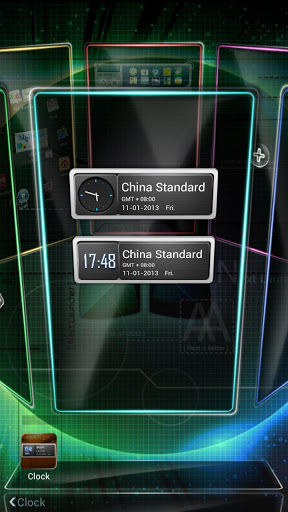 Next Clock Widget screenshot 4