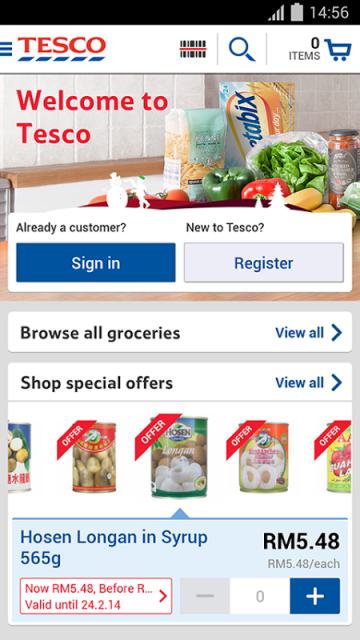 Tesco my coupons app