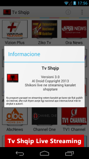 Tv Shqip Live - Albanian Tv screenshot 5