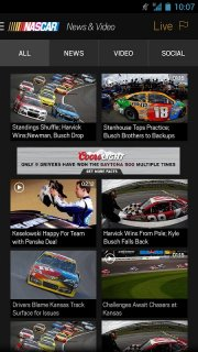 NASCAR MOBILE screenshot 13