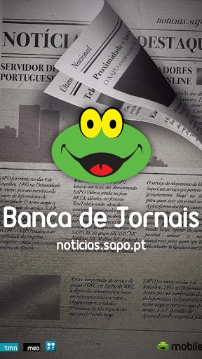 SAPO Banca de Jornais Screenshot