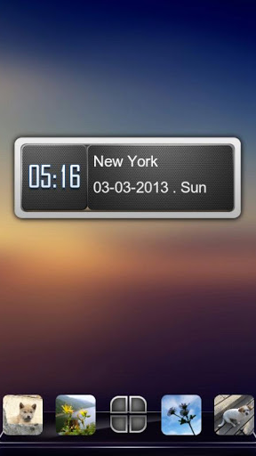 Next Clock Widget screenshot 5