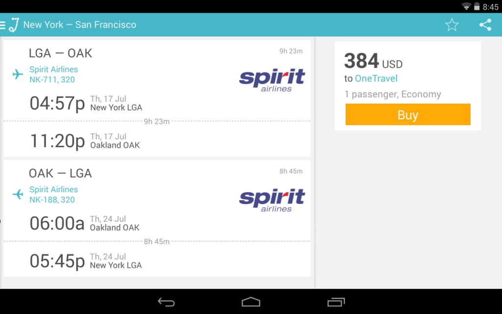 compare airline tickets