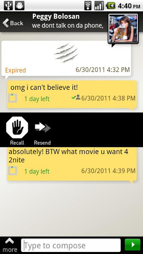 TigerText Free Private Texting screenshot 3