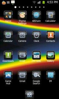 BlackBerry Theme Go LauncherEX screenshot 2