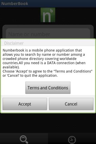 numberbook Screenshot