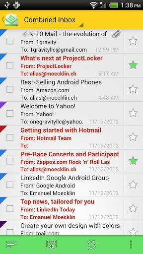 K-10 Mail Pro Screenshot