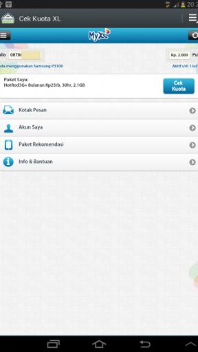 Cek Kuota XL Screenshot