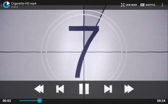 mVideoPlayer Pro Screenshot