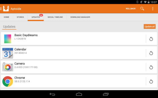 Aptoide screenshot 10