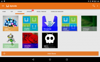 Aptoide Screenshot