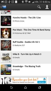 Mix.Hiphop Mixtapes screenshot 8