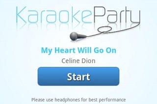 Karaokeparty.com Screenshot