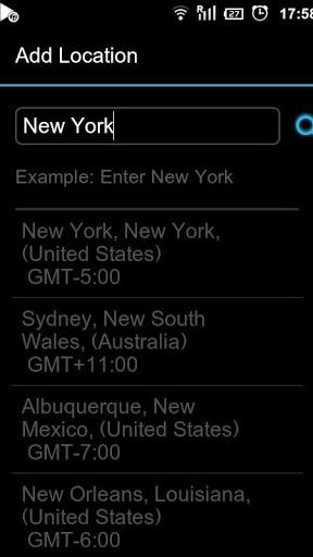 Next Clock Widget screenshot 1