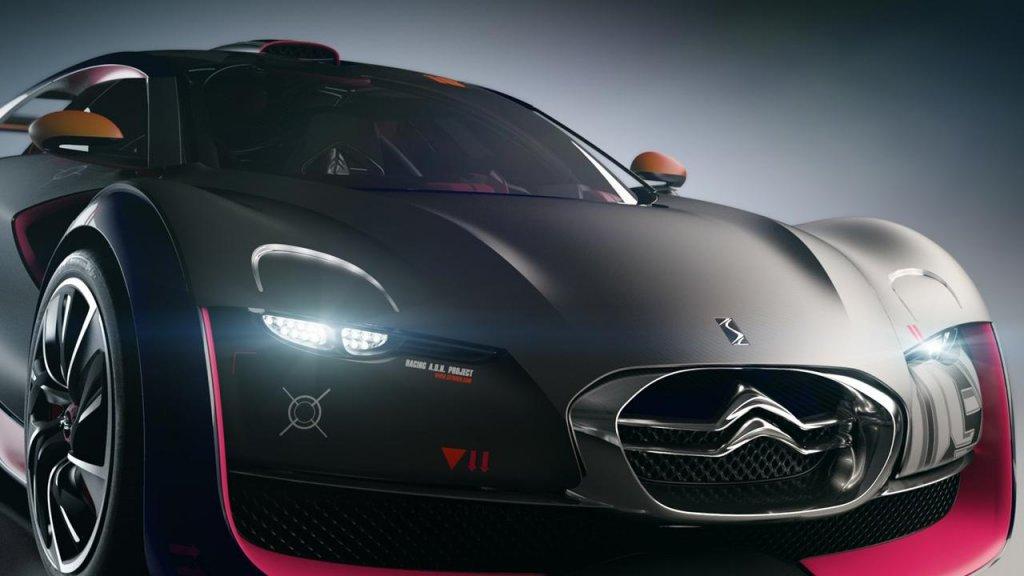 未來的汽車的動態壁紙圖片