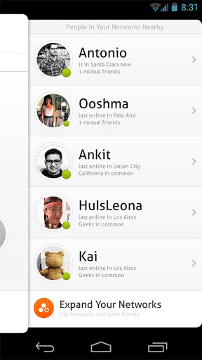 Circle - Nearby Friends Chat! screenshot 4