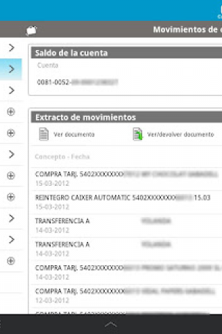 Banc Sabadell Screenshot