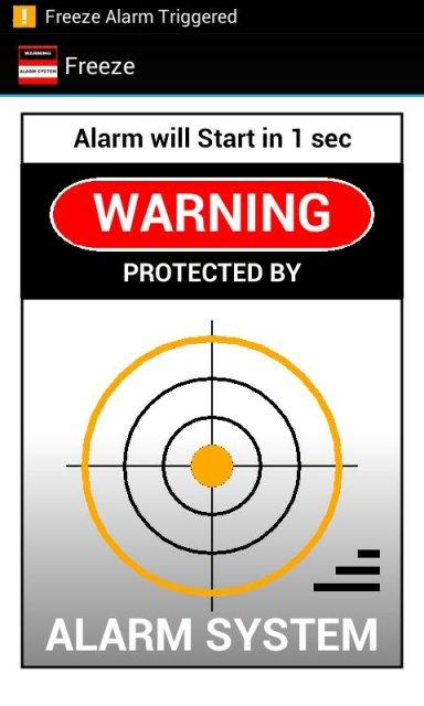 Security Alarm System screenshot 7.