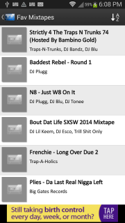 Mix.Hiphop Mixtapes screenshot 10