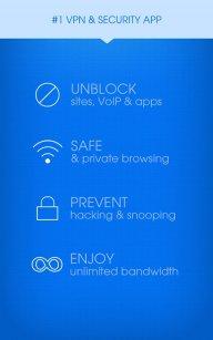 Hotspot Shield VPN screenshot 1
