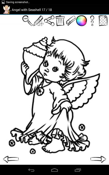 如何绘制可爱的天使
