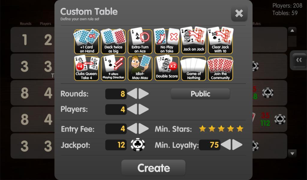 card game mau