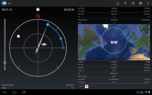ISS Detector Satellite Tracker v2.01.48 [Extensions Unlocked ] – AppzDam