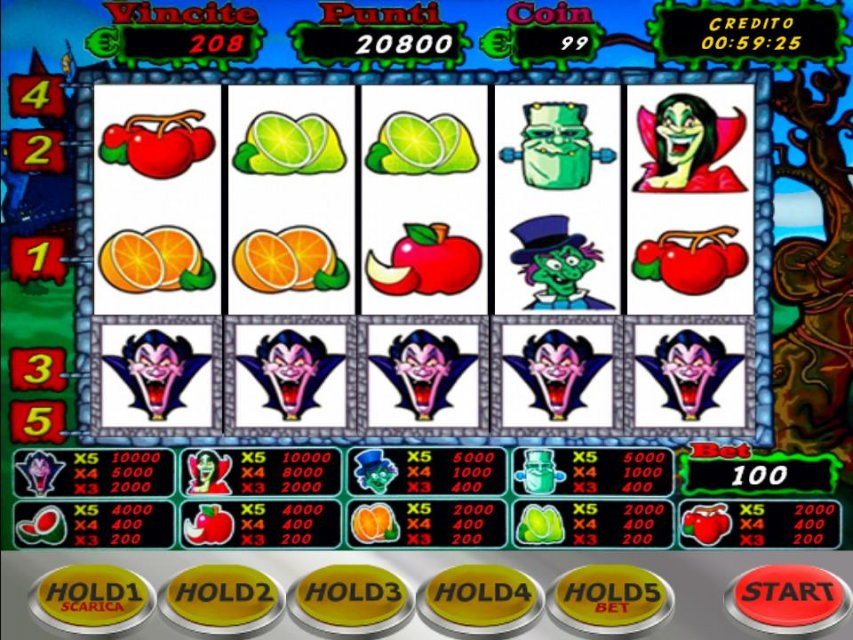Slot machine gratis online da bar