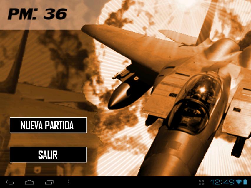 飞机战争游戏 screenshot