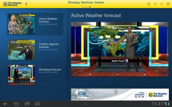 The Weather Network Screenshot