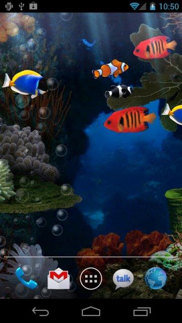 ������ Aquarium Live Wallpaper f4135a88ea8c9a7e6dbc