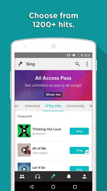 how to download songs from smule sing