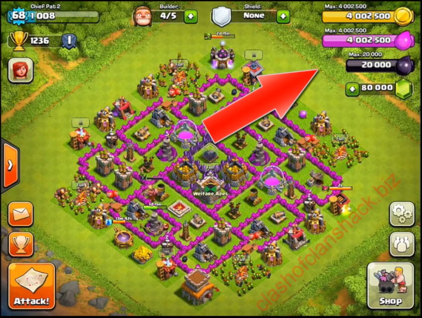 Clash Of Clans Hack Tool for Free  Aptoide - Android Apps Store